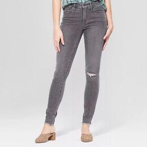 NEW Universal Thread Distressed Skinny Jeans sz 10
